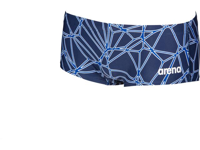 arena Carbonics Pro Pantalones cortos de cintura baja Hombre, navy/neon blue